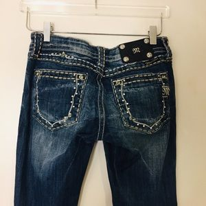 Miss Me Boot Jeans. Size 27